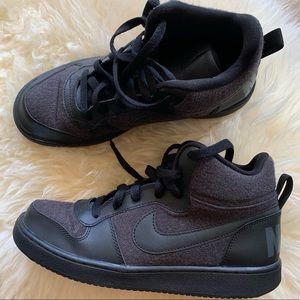 Kids Shoes 7Y Boys Nike Sneakers Black And Grey